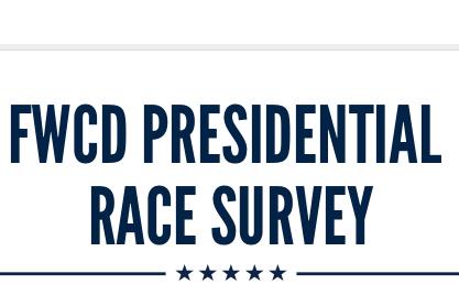 FWCD Presidential Race Survey