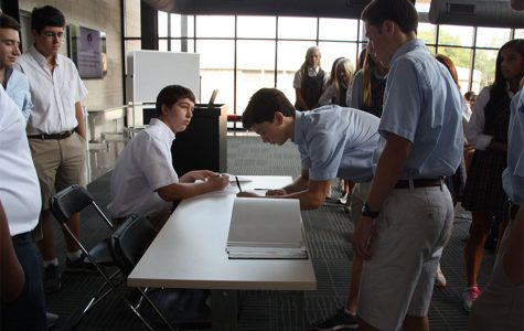 Students to Sign Honor Book