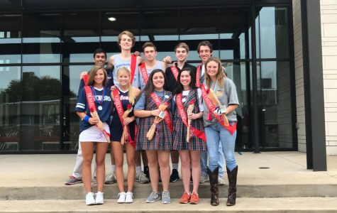 The 2017 Homecoming Court