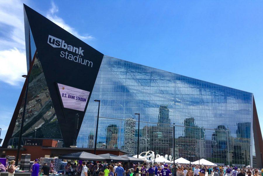 The+brand+new+U.S.+Bank+Stadium+in+Minneapolis%2C+Minnesota+hosted+Super+Bowl+LII+on+February+4.++