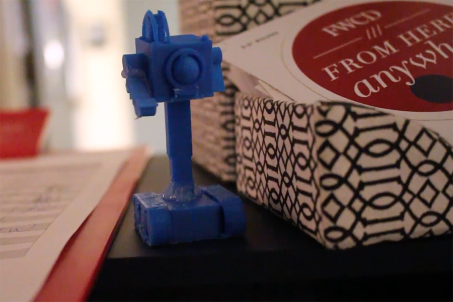 This 3d printed Butter Bot was inspired by the TV show