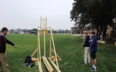 Students Compete in 2019 Catapult Contest