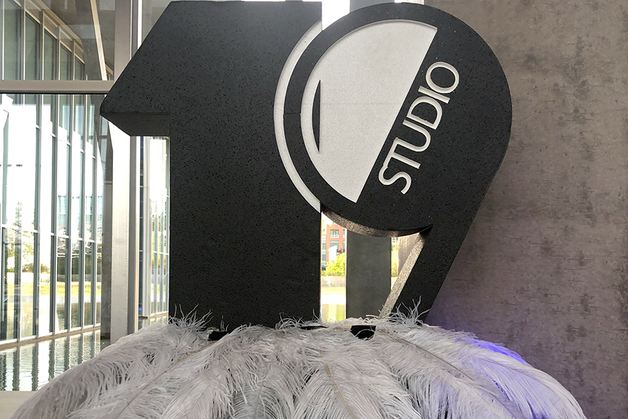 The Studio 19 prom theme encouraged disco dancing all night long.