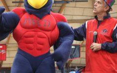 FWCD Debuts New Falcon Mascot with New Falcon Name