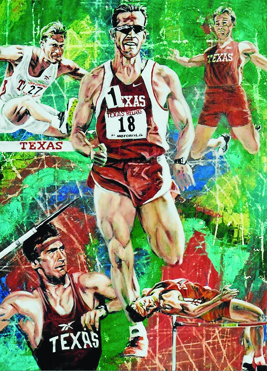 Barret Havran '98 participated as a decathlete at The University of Texas at Austin.