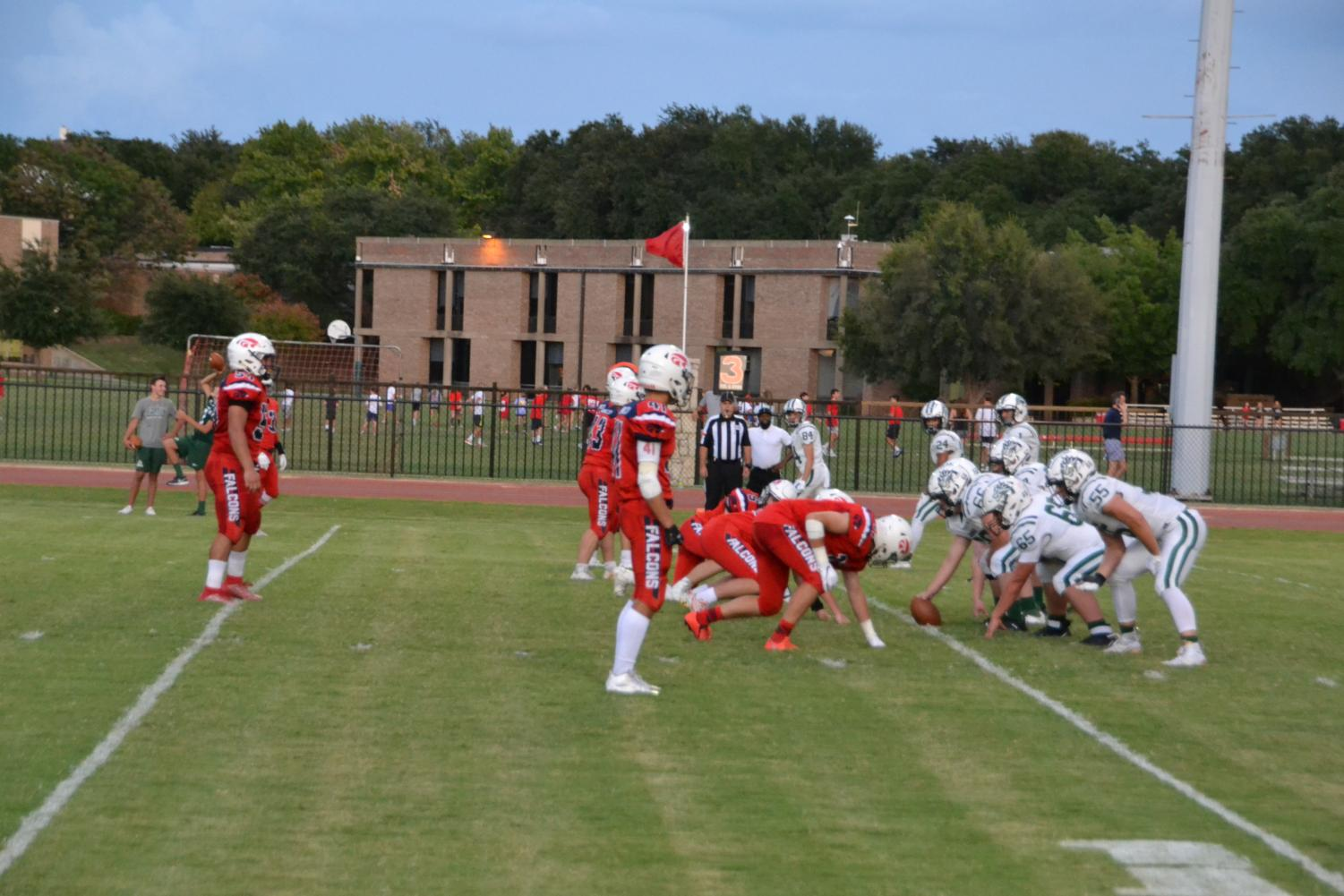 Falcons played John Cooper on Sept. 20 during the regular season and won 27-7.