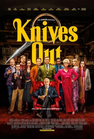 Release poster for Knives Out. Courtesy of FWCD.