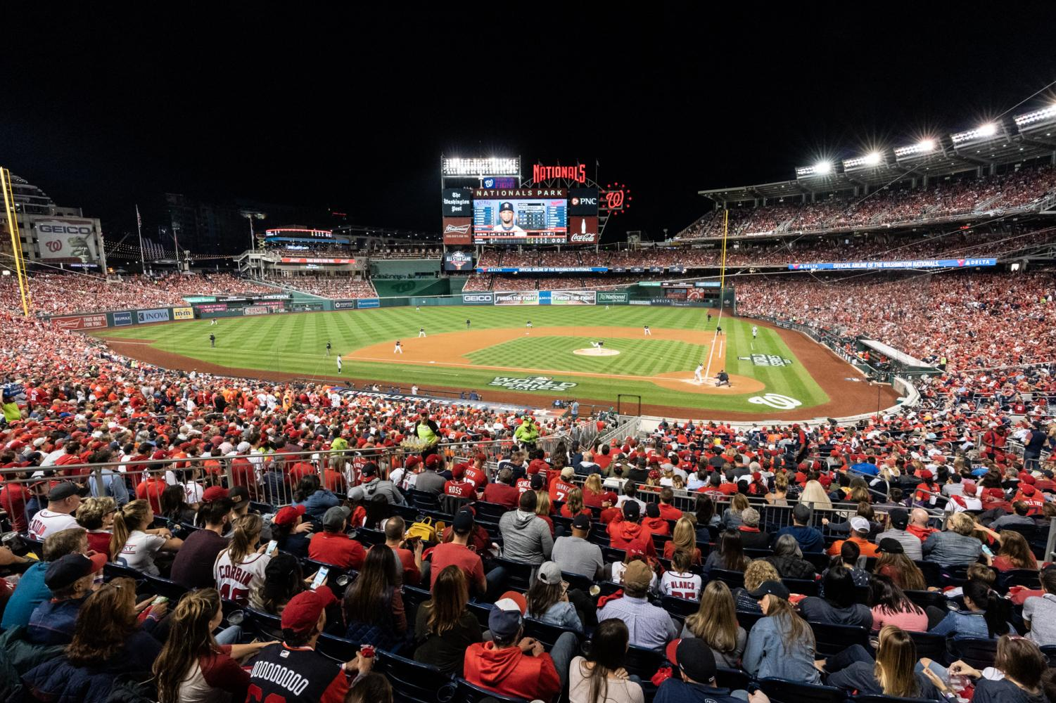 Nationals Park during Game 5 of the 2019 World Series