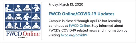 An informative link on the FWCD Portal.