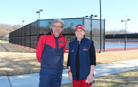 New tennis coaches Sil Azevedo and Debby Arnold are ready for the season to begin.