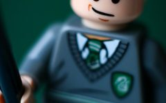 Draco's character inspired its own Lego movie character.