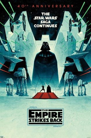 "Trends International Star Wars: The Empire Strikes Back-40th Anniversary Wall Poster, 22.375"" x 34"", Premium Unframed Version"