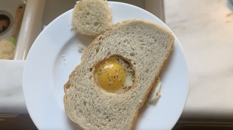 Cooking With Caroline: Egg In A Hole