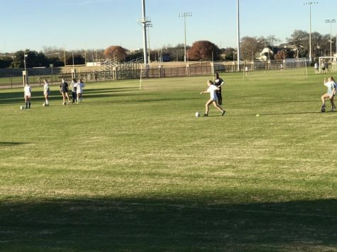 Girls soccer began winter practice on Nov. 16.