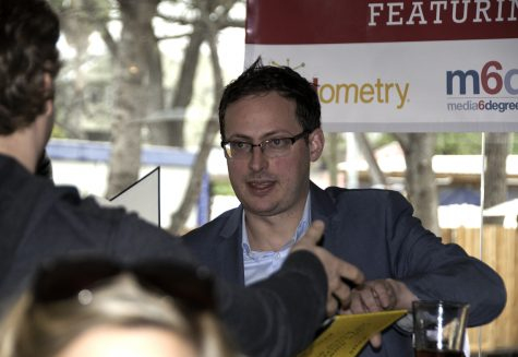 Nate Silver, founder and editor in chief of FiveThirtyEight, gives a talk at South by Southwest in 2013.
