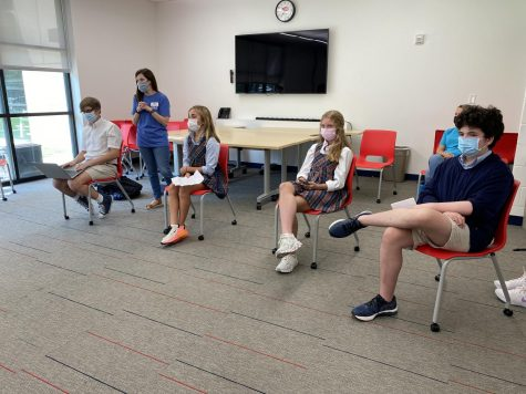 Class president candidates gave speeches to their fellow classmates on Sept. 3.