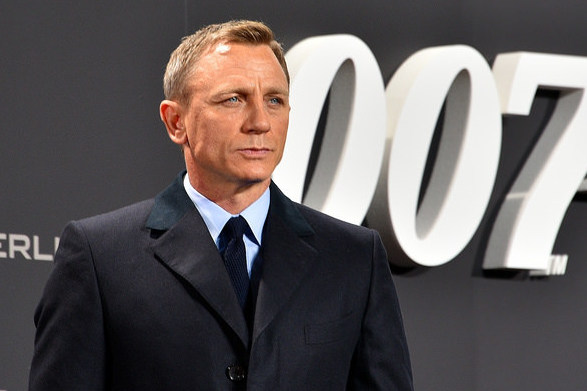 Daniel Craig at the Spectre 007 premier in Berlin